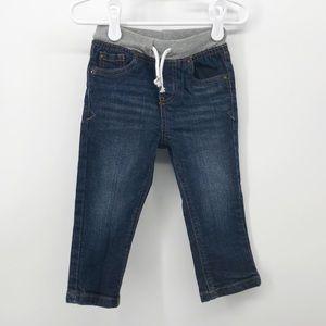 Cat & Jack | Drawstring Skinny Jeans | 18M